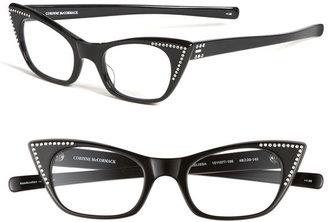 Corinne McCormack 'Melissa' Crystal Cat's Eye Reading Glasses