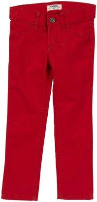 Osh Kosh Woven Jegging - Red-2T