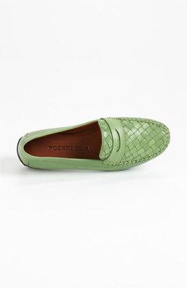 Robert Zur 'Petra' Driving Shoe Womens Hunter Green Size 8.5 M 8.5 M