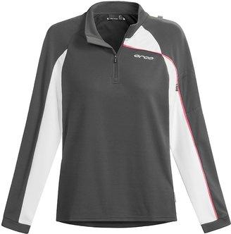 Orca Active Fleece Shirt - Quarter-Zip Neck, Long Sleeve (For Women)