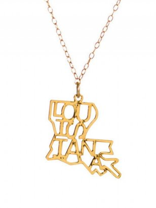 Kris Nations Louisiana State Pride Necklace