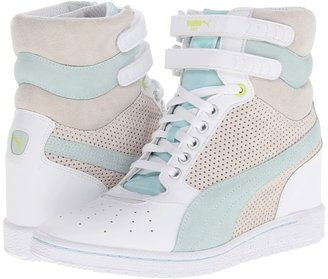 Puma Sky Wedge Wn's (White-Clearwater) - Footwear