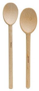 S/2 Assorted Wooden Spoons