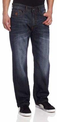 Rocawear Men's Flame Stitch Original-Fit Core Jean