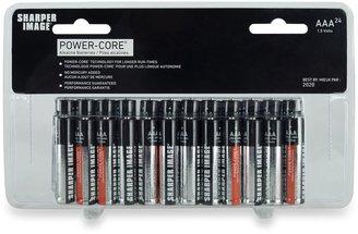 Sharper Image 24-Pack AAA Alkaline Batteries