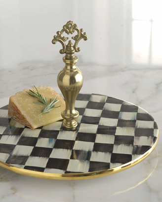 Mackenzie Childs Courtly Check Cheese Platter