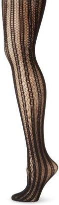 Ellen Tracy Women's Stripe Net Tight