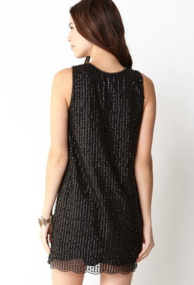 Forever 21 Standout Sequined Shift Dress