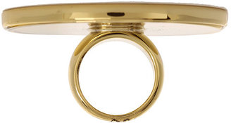 House Of Harlow Large Sunburst Cocktail Ring