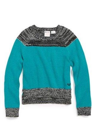 Roxy 'Winter Slumber' Sweater (Little Girls)