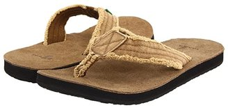 Sanuk Fraid Not (Khaki) Men's Sandals