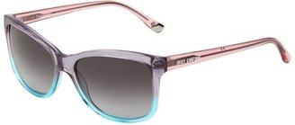 Juicy Couture Juicy 519/S (Blue Aqua Fade/Gray Gradient) - Eyewear