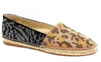 """Brian Atwood Hartwell"""" Multi Color Suede Studded Espadrille"""