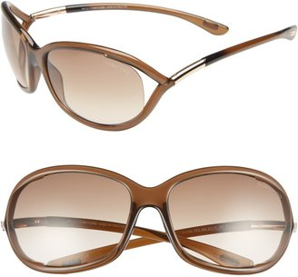 Tom Ford Jennifer 61mm Oval Oversize Frame Sunglasses