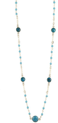 Athena Designs Turquoise Beaded Necklace