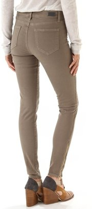 Paige Hoxton Ultra Skinny Jeans with Zippers