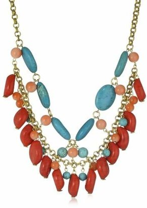 Yochi Colorful Statement Necklace