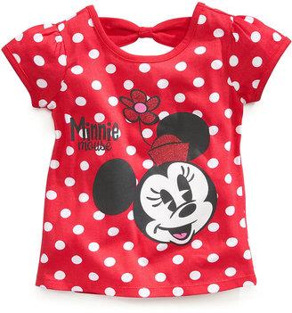 Disney Little Girls' Minnie Mouse Dot Tee