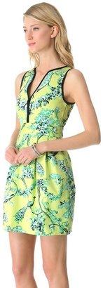 Nanette Lepore Tec-Porcelain Dress