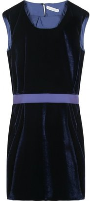 Richard Nicoll BELTED VELVET DRESS