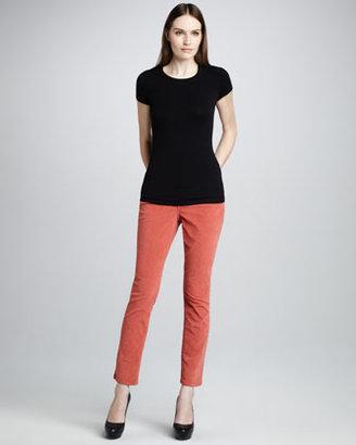 NYDJ Jade Corduroy Leggings, Dark Colors