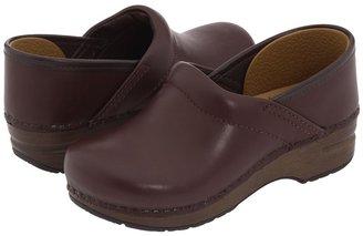 Dansko Gitte (Toddler/Little Kid/Big Kid) (Black Full Grain) - Footwear