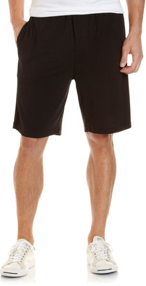 American Essentials Soft Jersey Drawstring Shorts, Black