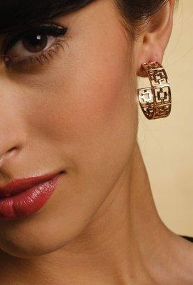 Trina Turk Brick Hoop Earrings