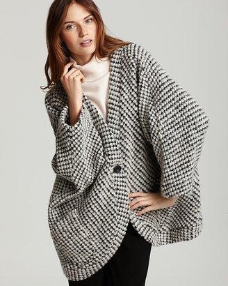 "Patterson J. Kincaid Justyna"" Chunky Knit Sweater Jacket"
