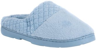 Soft Ones MUK LUKS Micro Chenille Clogs with QuiltedBand