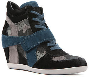 Ash Shoes The Bowie Bis Sneaker in Black and Smoke