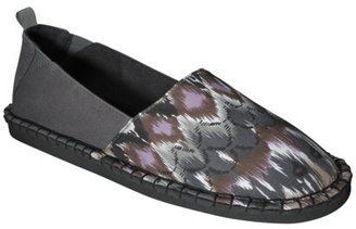 Mossimo Women's Lucinda Canvas Shoes - Black Print