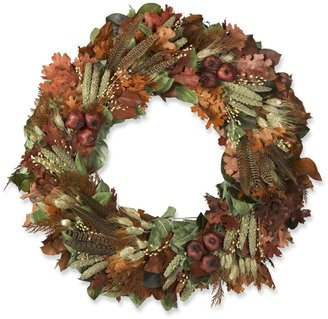 Williams-Sonoma Pheasant Feather Wreath