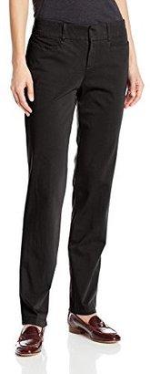 Dockers Women's Ideal Straight-Leg Trouser Pant $4.97 thestylecure.com