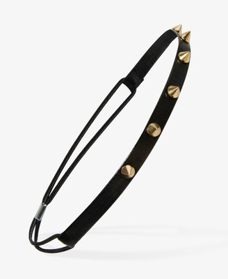 Forever 21 Spiked Faux Leather Headband