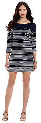 C&C California Striped Jersey Dress