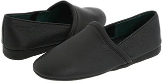 L.B. Evans Aristocrat Opera (Black Leather) Men's Slippers