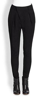 Helmut Lang Noa Suiting Angle Front Pants