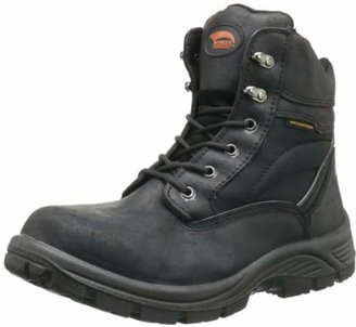 "Avenger Safety Footwear Avenger 7227 6"" Leather and Cordura EH Waterproof Slip Resistant Safety Toe Work Boot"