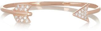 Anita Ko Arrow 18-karat rose gold cuff