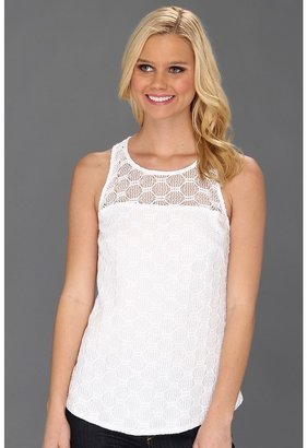 Trina Turk Deanna Top (Whitewash) - Apparel