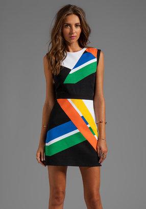 Tibi Transit Print Dress