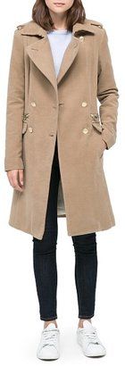MANGO Outlet Military Style Long Coat