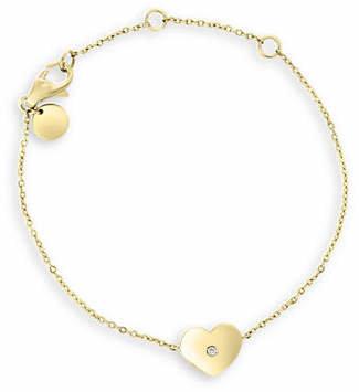 Effy D'Oro 14K Yellow Gold 0.01 TCW Diamond Bracelet