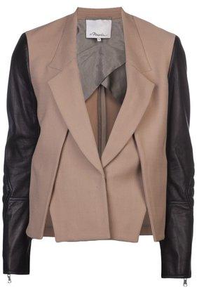 3.1 Phillip Lim layered bi-colour jacket