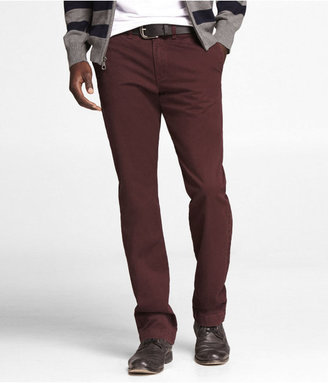 Express Colored Chino Photographer Pant