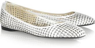 Jil Sander Perforated leather ballet flats