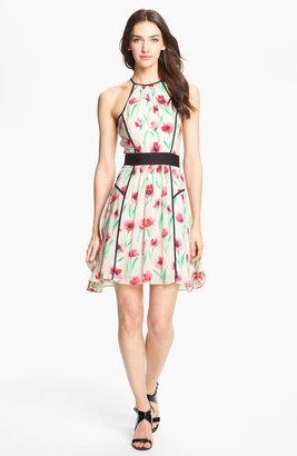 Milly 'Gillian' Print Fit & Flare Dress