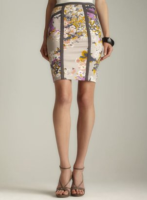 Darling Ashley Floral Pencil skirt