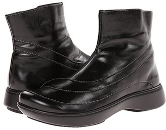 Naot Footwear Tellin (Black Madras Leather) Women's Zip Boots